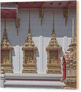 Wat Suwan Khiri Khet Ubosot Windows Dthp273 Wood Print