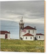 Watch Hill Lighthouse Wood Print