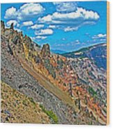 Watchman Overlook In Crater Lake National Park-oregon Wood Print