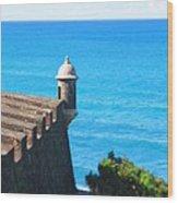 Watchtower Of San Juan Wood Print