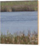 Water Abstract Wood Print