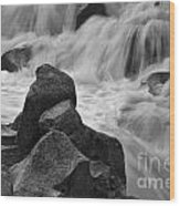 Water And Stone Nigel Creek 2 Wood Print