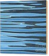 Water At Calanques De Cassis Wood Print