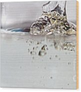 Water Drops Abstract6 Wood Print