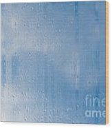 Abstract Of Condensation And Vapor Wood Print