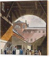 Water Engine, Coldbath Fields Prison Wood Print