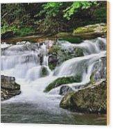 Water Fall 2 Wood Print