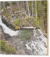 Water Fall 3 Wood Print