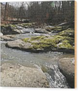 Water Fall Kentucky 2 Wood Print