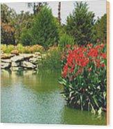 Water Hazard Santa Maria Country Club Wood Print