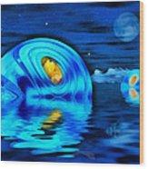 Water Homes Of The Sea Fairies Wood Print