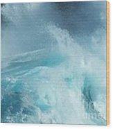 Water - Ile De La Reunion Wood Print