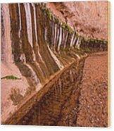 Water Is Life - Coyote Gulch - Utah Wood Print
