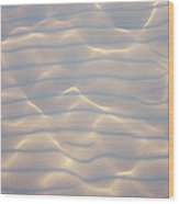 Water Patterns And Sunny Play Wood Print