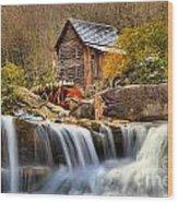Water Powered Wood Print