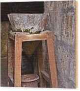 Water Purification In Arequipa Wood Print