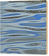Water Reflections 2 Wood Print