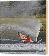 Water Skiing 10 Wood Print
