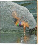 Water Skiing 5 Magic Of Water Wood Print