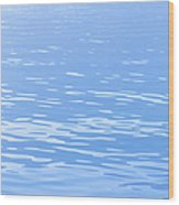 Water Surface Background Wood Print