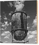 Water Tower At Mt Diablo Wood Print