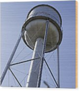 Water Tower Deer Lodge Montana Wood Print
