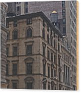 Water Towers Feed The Nyc Buildings Wood Print