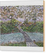 Water Under The Bridge Wood Print by Leo Gehrtz