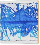 Water Variations 11 Wood Print