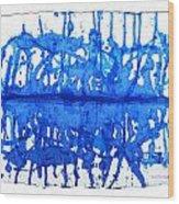 Water Variations 12 Wood Print