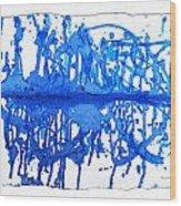 Water Variations 13 Wood Print
