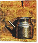 Water Vessel Wood Print by Prakash Ghai
