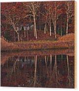 Water View Wood Print