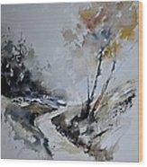 Watercolor 212152 Wood Print