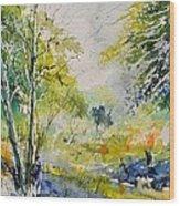 Watercolor 414061 Wood Print