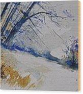 Watercolor 419082 Wood Print