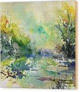 Watercolor 45319041 Wood Print