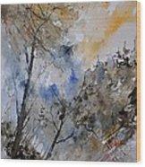 Watercolor 45319051 Wood Print