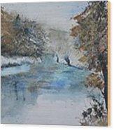 Watercolor 511003 Wood Print