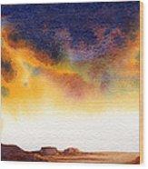 Mesa Wood Print