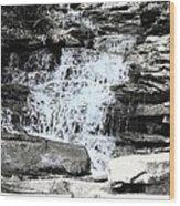 Waterfall 3 Wood Print