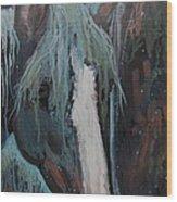 Waterfall II Wood Print