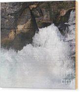 Waterfall In Neuhausen Near Schaffhausen Wood Print