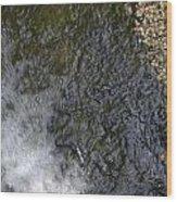 waterfall in park Angerenstein in Arnhem Wood Print