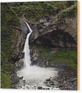 Waterfall Inspiration Wood Print