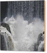 Waterfall Magic Wood Print
