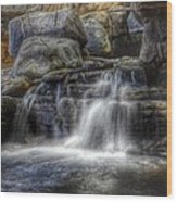 Waterfall Wood Print