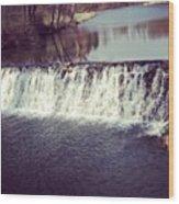 #waterfall #newyork #water #nature Wood Print
