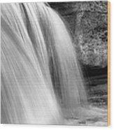 Waterfalls I I Wood Print