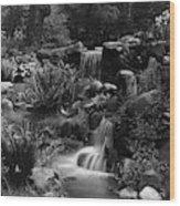 Waterfalls On The Mr J B Van Sciver Estate Wood Print